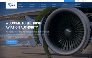 Engine Solutions delivers Irish Aviation Authority website